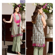 Kalyan Lawn Eid Collection 2016 Original - 03 Pcs Suite -12B