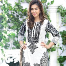 Amna Ismail-Semi Stitched Lawn 2016 Original - 03 Pcs Suit -SKU: AIL-353