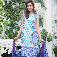 Amna Ismail-Semi Stitched Lawn 2016 Original - 03 Pcs Suit -SKU: AIL-355