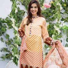 Amna Ismail-Semi Stitched Lawn 2016 Original - 03 Pcs Suit -SKU: AIL-359