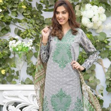 Amna Ismail-Semi Stitched Lawn 2016 Original - 03 Pcs Suit -SKU: AIL-361