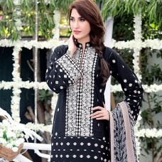 Amna Ismail-Semi Stitched Lawn 2016 Original - 03 Pcs Suit -SKU: AIL-366