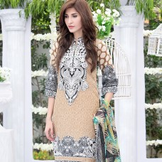 Amna Ismail-Semi Stitched Lawn 2016 Original - 03 Pcs Suit -SKU: AIL-369