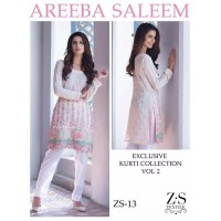 Areeba Saleem Kurti Collection Vol 2 - Original - ZS-13