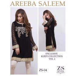 Areeba Saleem Kurti Collection Vol 2 - Original - ZS-04