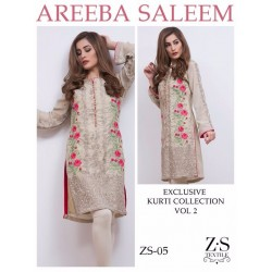 Areeba Saleem Kurti Collection Vol 2 - Original - ZS-05