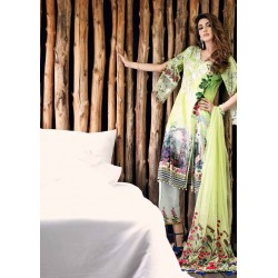 Mahiymaan Eid Collection 2017 Master Replica - 03 Pcs Suite - MNL 06