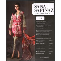 Sana Safinaz Luxury Formal Wear Master Replica - Eid Collection 2016 - 5A