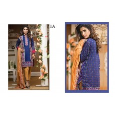 Signature Icon Vol 2 Eid Collection 2016-2017 Original - 03 Pcs Suite - 1A