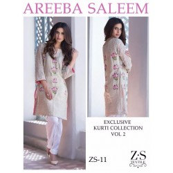 Areeba Saleem Kurti Collection Vol 2 - Original - ZS-11
