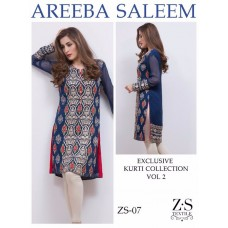 Areeba Saleem Kurti Collection Vol 2 - Original - ZS-07