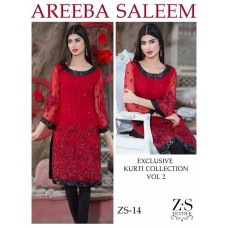 Areeba Saleem Kurti Collection Vol 2 - Original - ZS-14