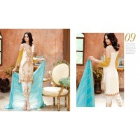 Charizma Signora Chiffon Collection Vol-2 - Morning Glory – Tranquility SC-09