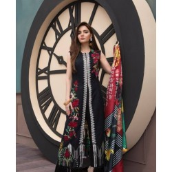 Crimson Eid Collection 2017 Master Replica - 03 Pcs Suite - CNE 02B