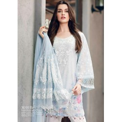 Mahiymaan Eid Collection 2017 Master Replica - 03 Pcs Suite - MNL 05