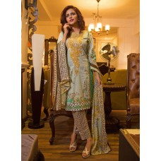 Nazia Hassan By Strawberry Festive Collection 2016 Original - 03 Pcs Suite - 03A