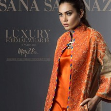 Sana Safinaz Luxury Formal Wear - Eid Collection 2016 - 3B